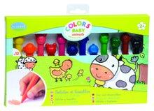 Achat en ligne Set de 12 crayons de couleurs animaux en cire