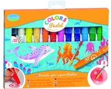 Achat en ligne Set de 12 crayons pastels