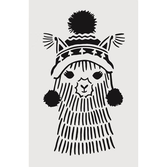 acquista online Stencil lama 19x29cm