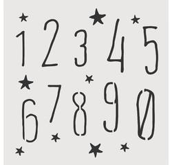 compra en línea Plantilla de números pequeña para decorar (9 x 9 cm)