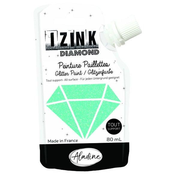 Achat en ligne Izink diamond bleu ciel 80ml