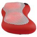 Coussin de massage chauffant rouge Shiatsu