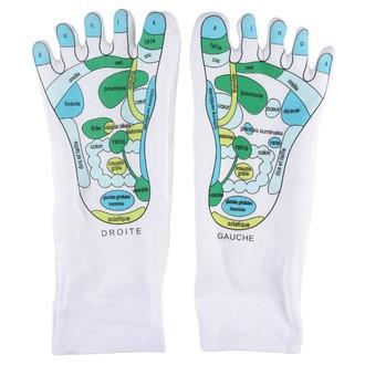 LA CHAISE LONGUE - Chaussettes de réflexologie microencapsulées aux huiles essentielles