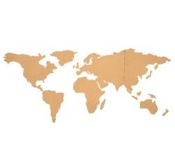 compra en línea Mapa del mundo de corcho para la pared con adhesivo