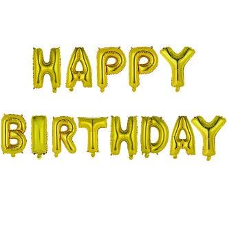 LA CHAISE LONGUE - Ballons happy birthday