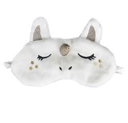 Achat en ligne Masque de nuit fourrure licorne blanc