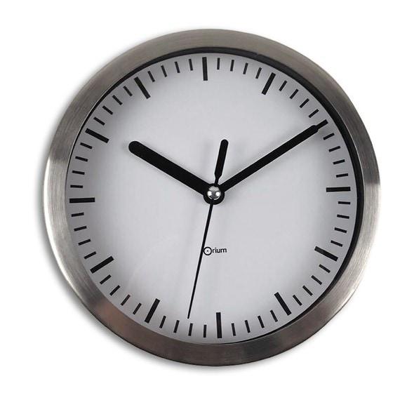 Achat en ligne Horloge murale en inox Ø15cm