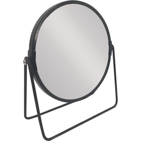 Miroir métal noir à poser