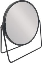 Achat en ligne Miroir métal noir à poser