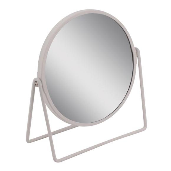 Achat en ligne Miroir métal blanc à poser