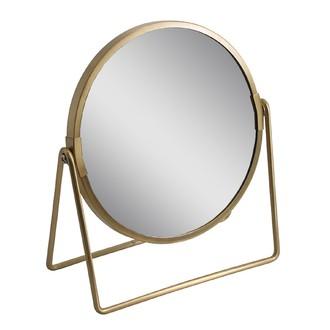 Miroir doré à poser joy