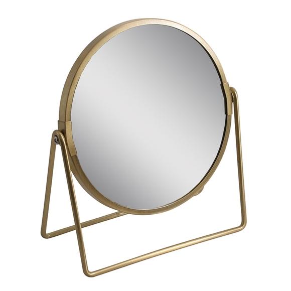 Achat en ligne Miroir doré à poser JOY
