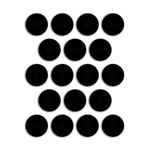 Achat en ligne Jeu de 18 aimants adhésifs 19mm