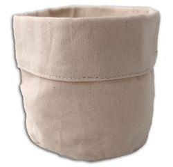 Achat en ligne Vide poche tissu blanc cassé 12cm