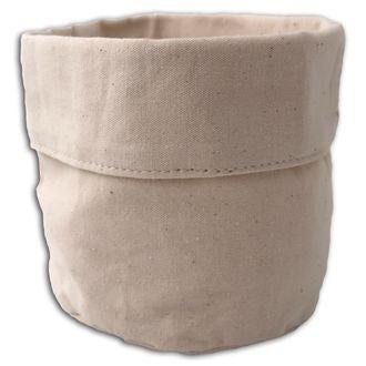 Vide poche tissu blanc cassé 12cm