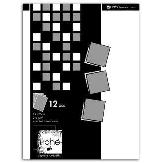 TOGA - Mahé Déco -Bloc A5 - Argent