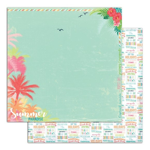 Feuille 30x30 Tropical Paradise 2