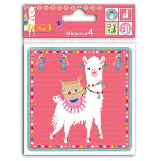 TOGA- Stickers de couverture lama