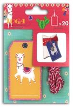 Achat en ligne Lot de 20 étiquettes Lama