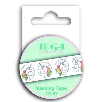 TOGA- Masking tape petite licorne