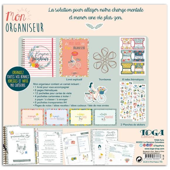 Achat en ligne Kit Organiseur Flower Power