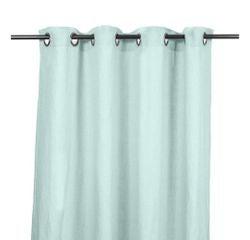 compra en línea Cortina 100% de lino verde Propriano (140 x 280 cm)