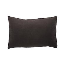 Achat en ligne Coussin en lin gris charbon Noa 40x60cm
