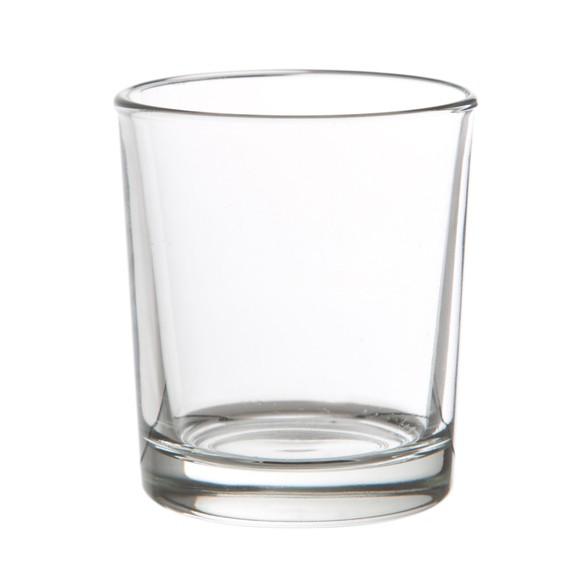 Achat en ligne Support bougie chauffe-plat transparent 6,5x6cm