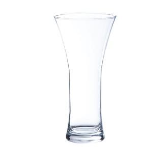 Vase en verre transparent riga 25x12cm