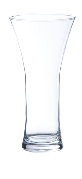 Achat en ligne Vase en verre transparent Riga 25x12cm