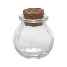 Achat en ligne Mini pot rond avec couvercle en liège 5cm