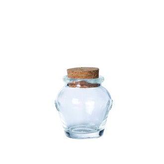 Mini pot jarre avec couvercle en liège 5cm