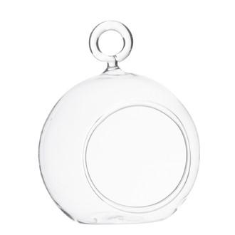 Vase boule à suspendre ou à poser d10xh12cm