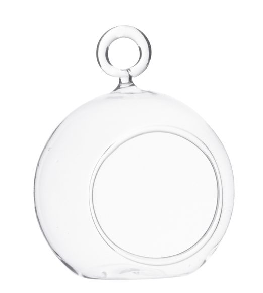 Achat en ligne Vase boule à suspendre ou à poser d10xh12cm