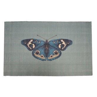 ZODIO - Tapis de bain imprimé Papillons 50x80cm