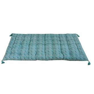 Futon en coton imprimé beach 60x120cm