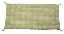 Achat en ligne Futon 60x120cm rayé jaune Eclosion