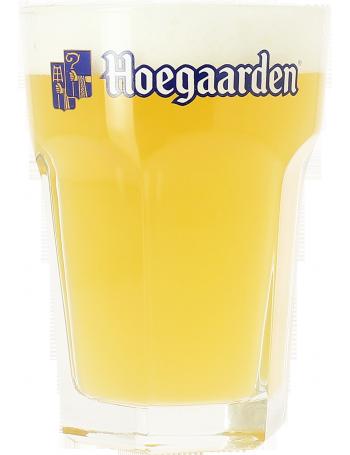 Achat en ligne Verre à bière Hoegaarden blanche 33cl