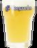 Verre à bière Hoegaarden blanche 33cl