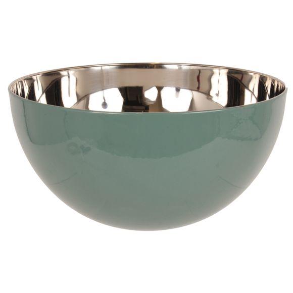 Insalatiera in acciaio inox, salvia, Ø24cm