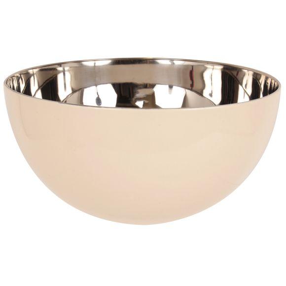 Insalatiera in acciaio inox, beige, Ø24cm