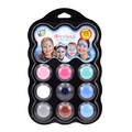 Palette de maquillage reine des neiges 9 couleurs 4ml