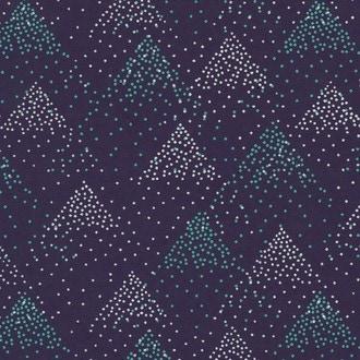 Feuille de papier montagne bleu 50x70cm 100g