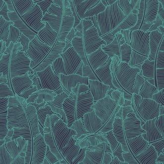 Foglio di carta tropical aqua 50x70 cm 100g
