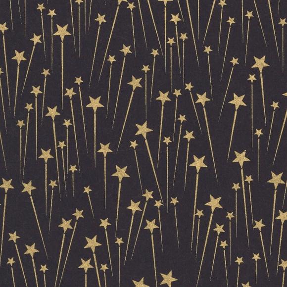 Achat en ligne Feuille de papier étoile noir 50x70cm 100g