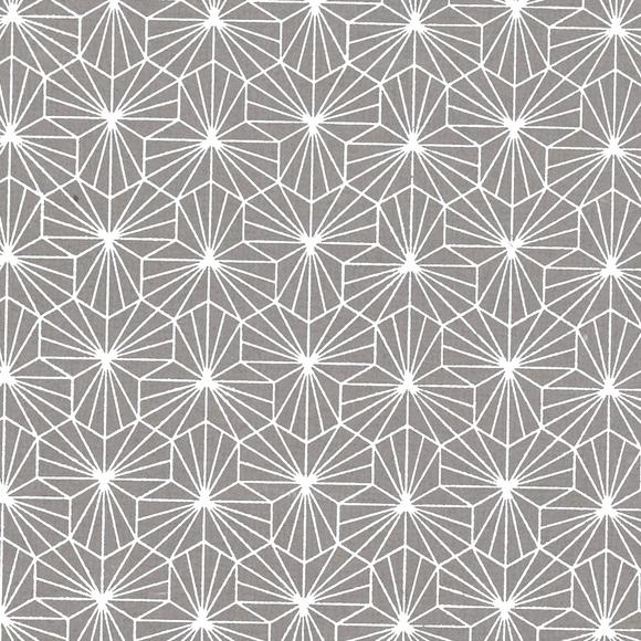 Achat en ligne Feuille de papier géométrique gris blanc 50x70cm 100g
