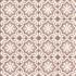 Feuille papier carreaux de ciments rose poudré 50x70cm