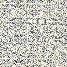 Achat en ligne Feuille décorative imprimé bleu et blanc 50x70cm