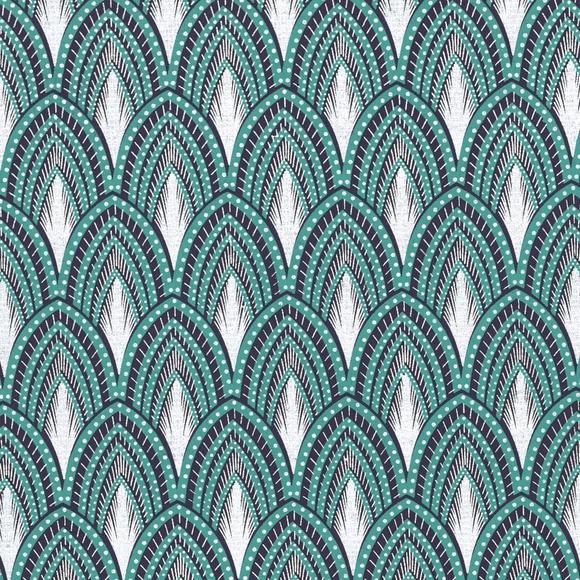 Achat en ligne Feuille de papier paon bleu argent 50x70cm 100g