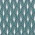Feuille de papier paon bleu argent 50x70cm 100g